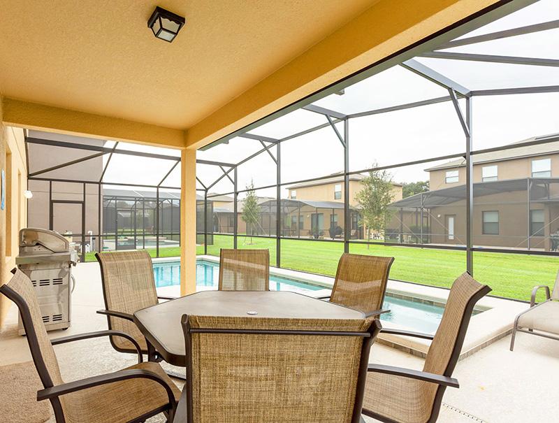 Aluguel próxima a Disney com piscina privativa