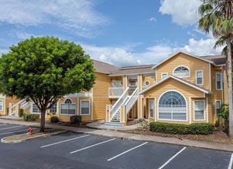 Apartamento para alugar em Orlando Fachada