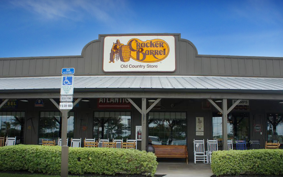 Fachada Cracker Barrel orlando