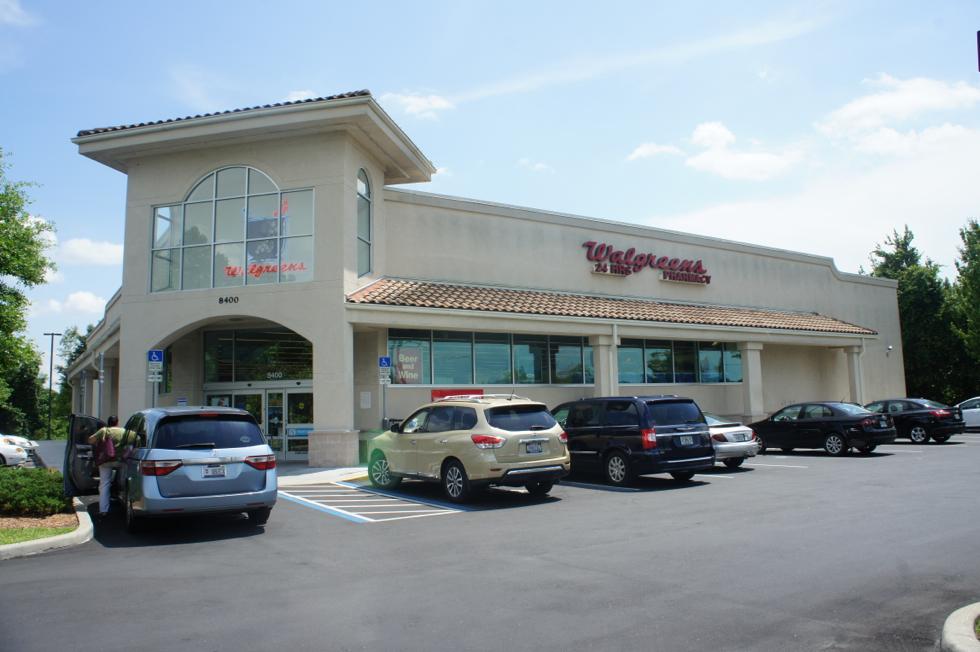 Fachada Walgreens Orlando