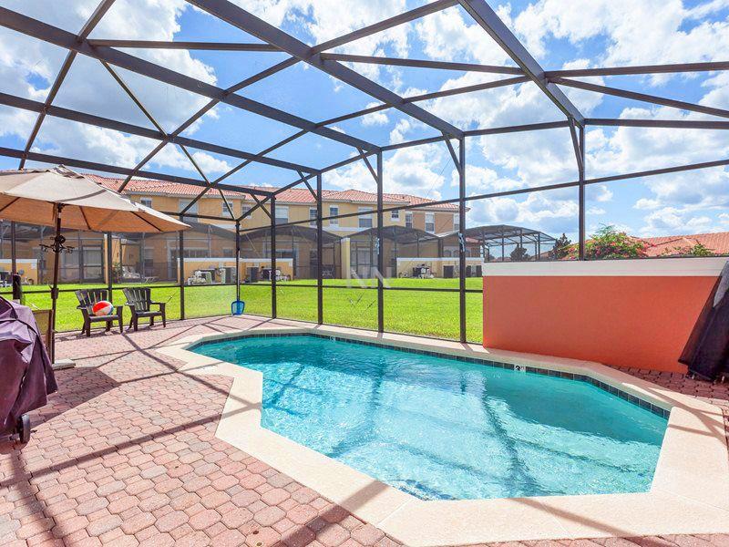 casa com piscina em Orlando