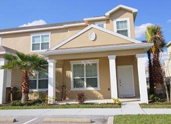 Alugue essa casa de férias em Orlando entrada