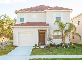 Alugue essa casa de temporada em Orlando perto da Disney Fachada