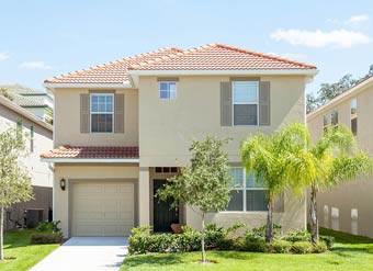 Casa de aluguel em Orlando para temporada fachada