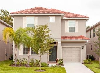 Grande casa em Orlando Kissimmee Fachada