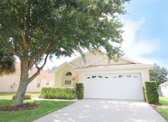 Alugue casa em Orlando Entrada