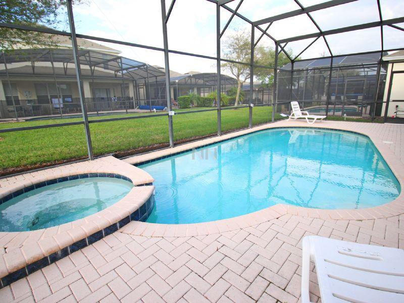 Casa espaçosa para temporada em Orlando