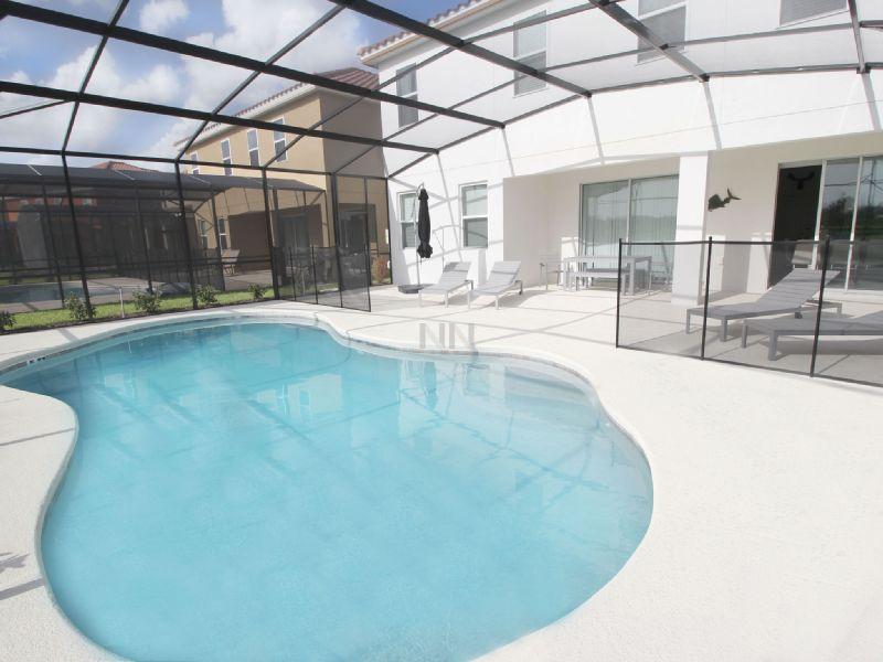 Linda casa de férias em Orlando