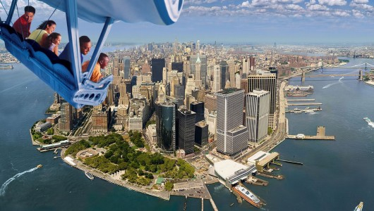 Aerial picture of lower manhatten by Rafael Rivera. www.rafaelstudio.com