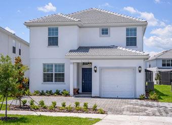 Condomínio novo com casas para alugar em Orlando Destaque