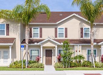 Linda casa de temporada em Orlando Disney Destaque