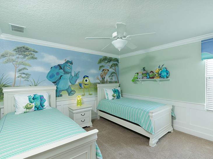 Suas férias em uma Casa na Disney