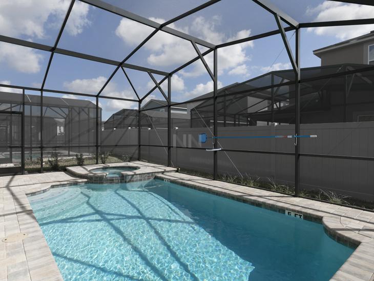 Temporada em Orlando em Incrível Resort